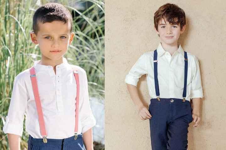 Tenues bambins d'honneur 🥰 3