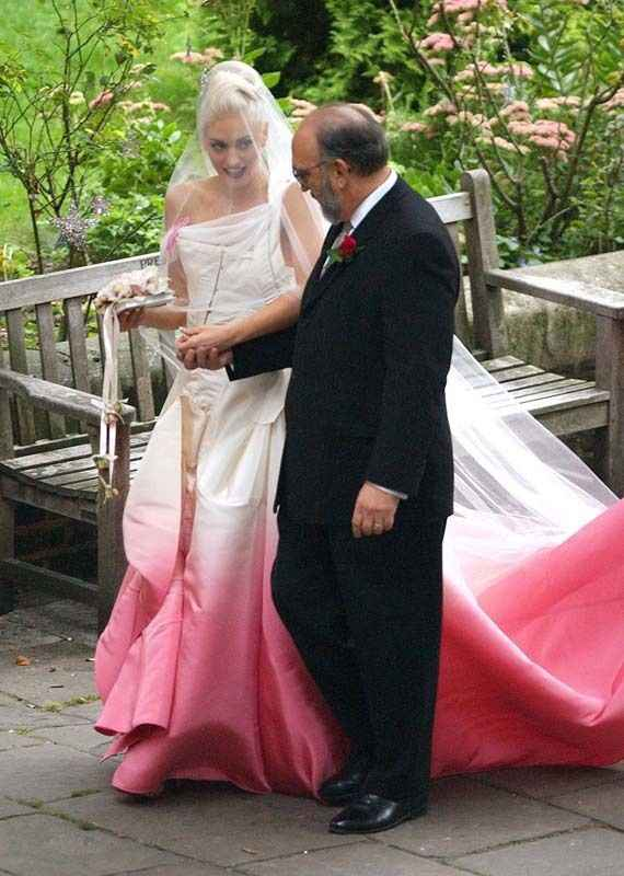 Quelques célèbres mariées en rose !! - 1