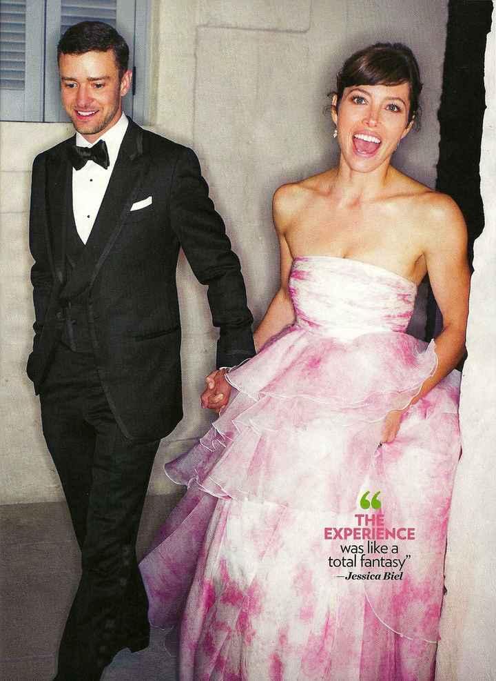 Quelques célèbres mariées en rose !! - 2