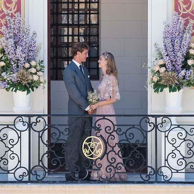Quelques célèbres mariées en rose !! - 4