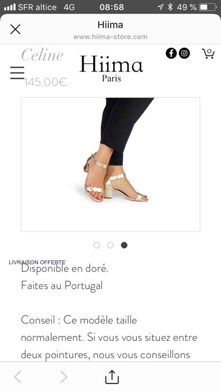 Personnalisation de chaussures de mariée (ou pas) ! - 1
