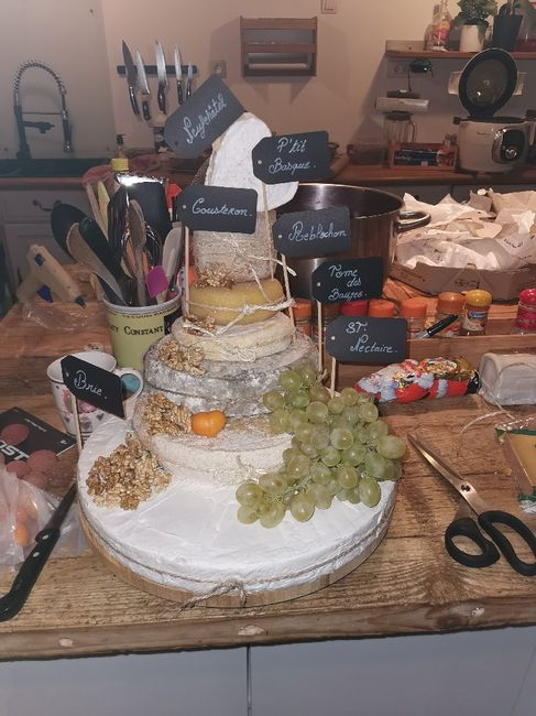 Pièce montée fromage 1