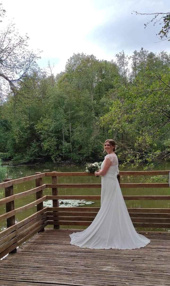 Idées de pose de photo de la mariée seule 5