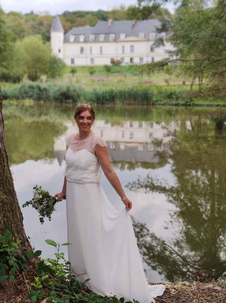 Idées de pose de photo de la mariée seule 6