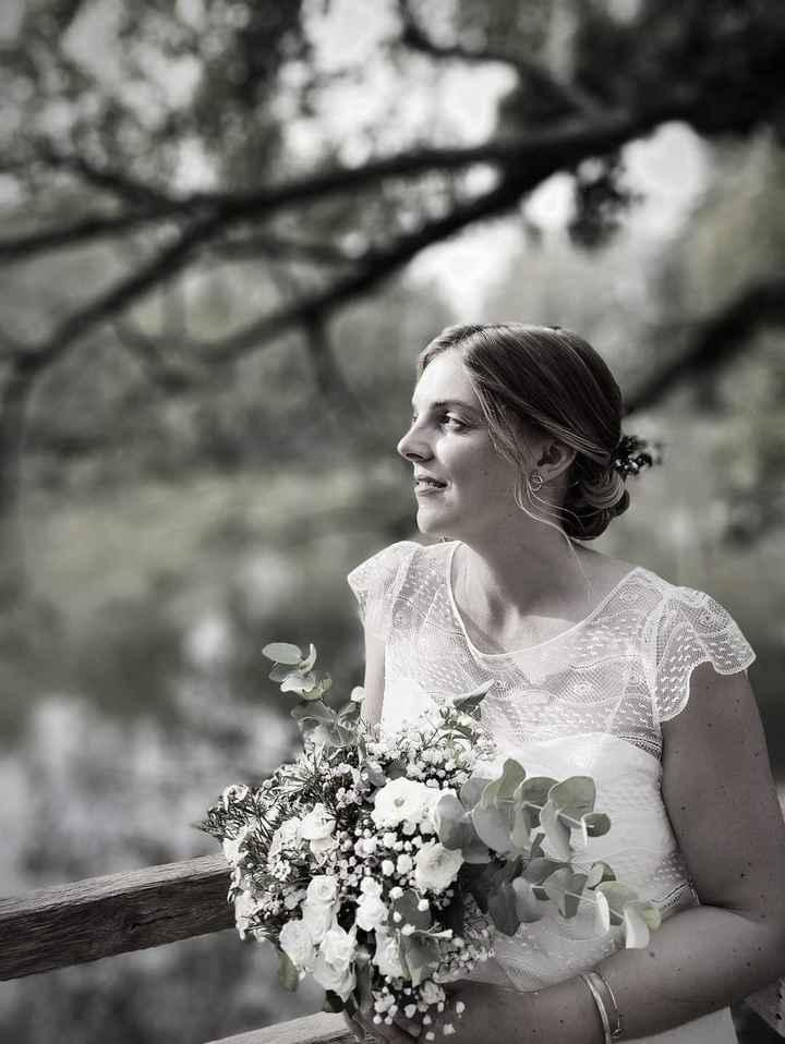 Idées de pose de photo de la mariée seule 3