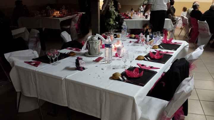 table des invites