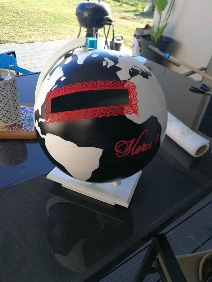 Diy urne globe - 1