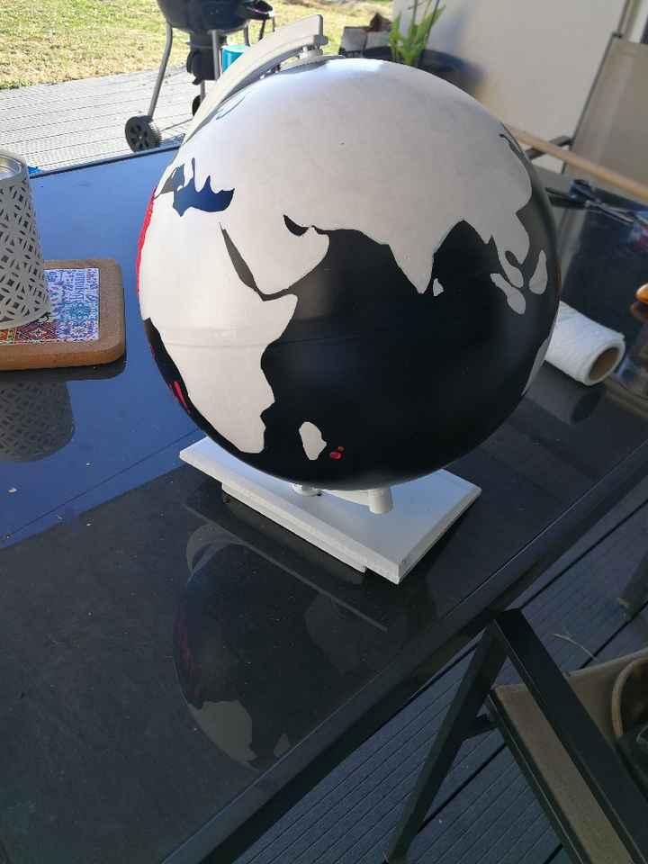 Diy urne globe - 2