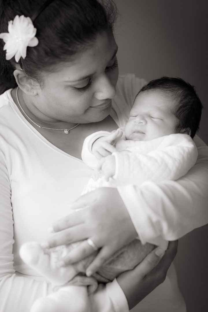 Avec bébé Noa