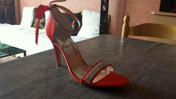 10 modèles de chaussures rouges - 1