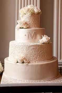 Mon wedding cake