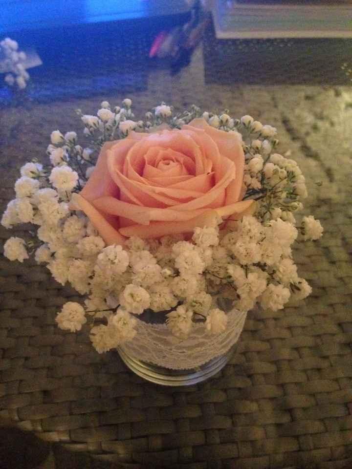 deco fleur table