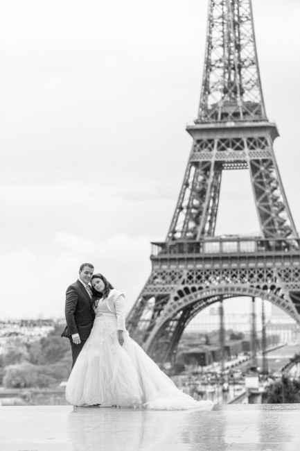 Notre trash the dress - Paris