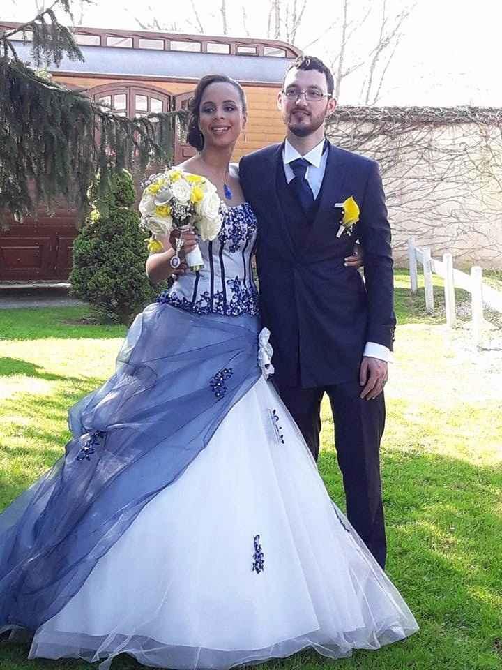 Les mariés again
