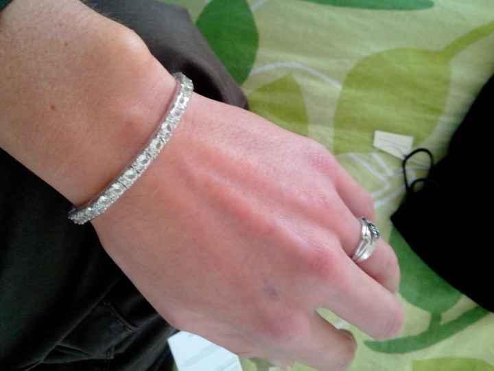 Bracelet mariee: avis svp ;-) - 1