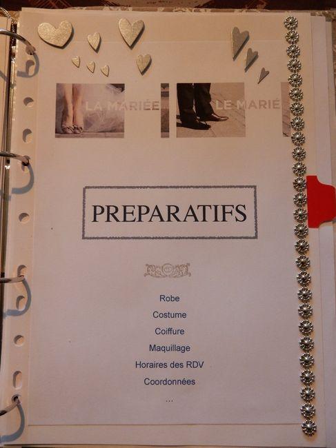 Classeur Preparatifs