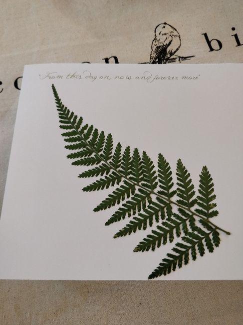 Inspiration fougère pour mariage dans la forêt. 6