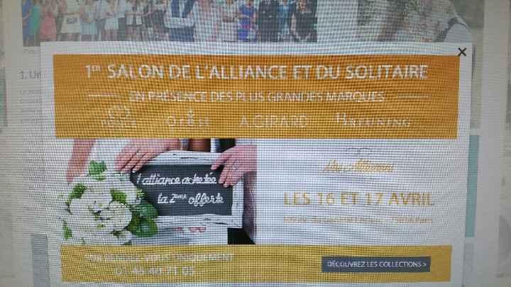 Salon de l'alliance à paris - 1