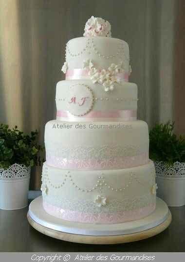 Wedding cake qu'avez vous choisis? - 1