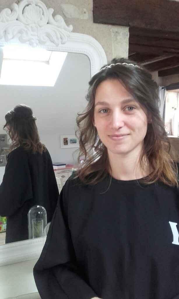 Essai coiffure 1 - 2
