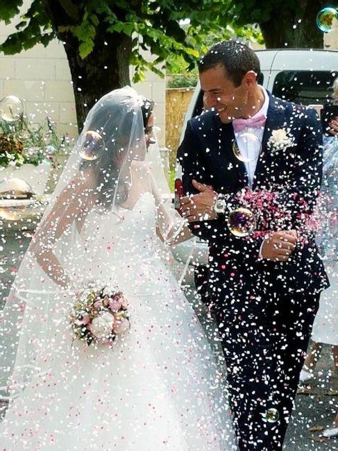 Confettis et bulles