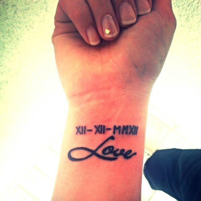 Amour, couple et tatouages , 1