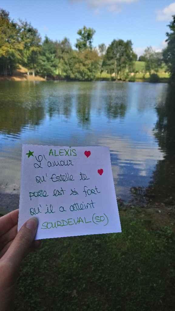 Love note Alexis/estelle et Severine / Allan - 1