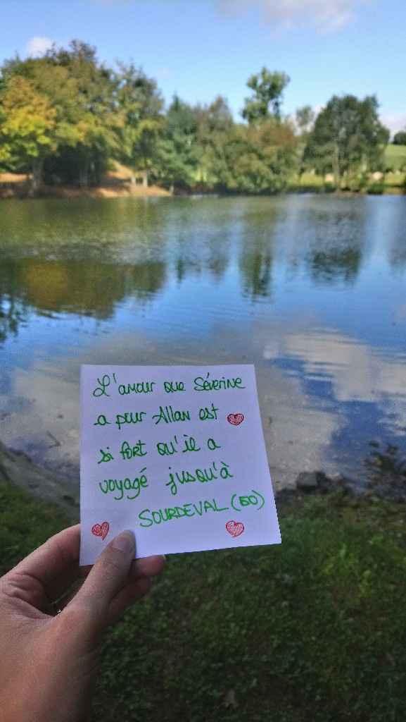 Love note Alexis/estelle et Severine / Allan - 2