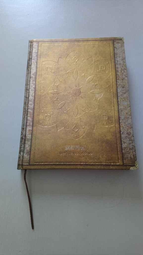 Livre d'or trouvé - 1