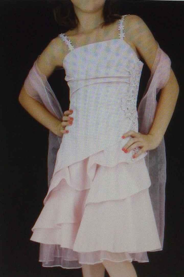 4 eme essai de robe de cortège, votre avis ?