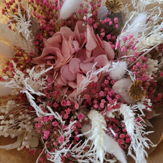 Bouquet pour lancer du bouquet 💐 1