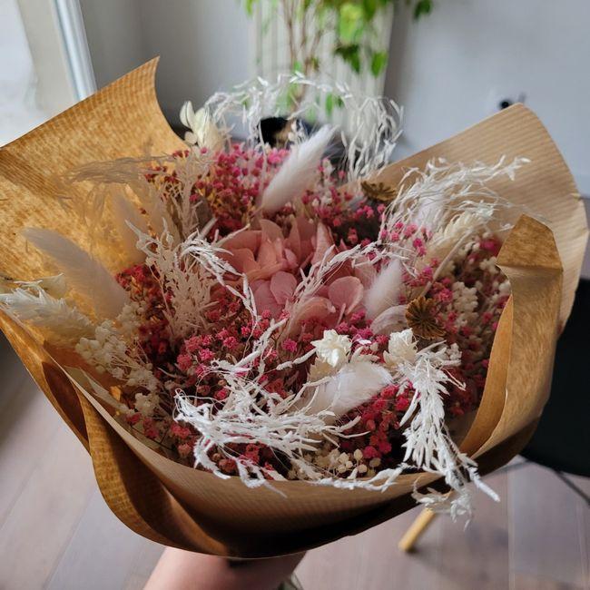 Bouquet pour lancer du bouquet 💐 2