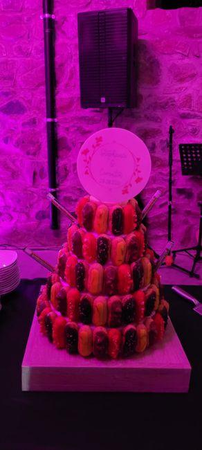 On parle du gâteau de mariage 😋 1