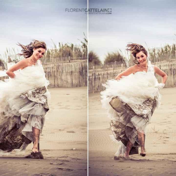 Séance Photo Trash the dress - 1