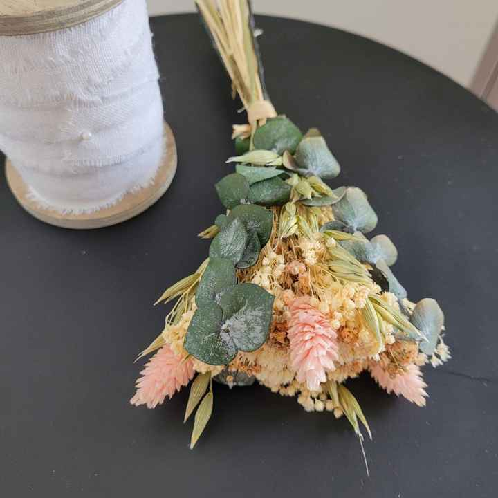 Bouquets pour chaises cérémonie laïque - 1