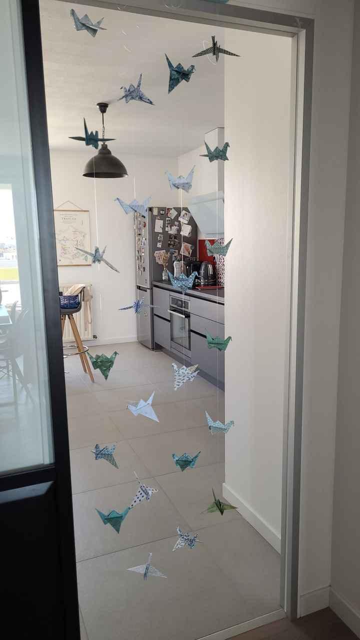 Guirlandes origami - 1