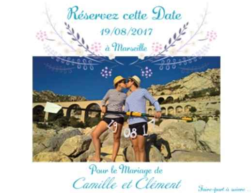 Notre save the date - 1