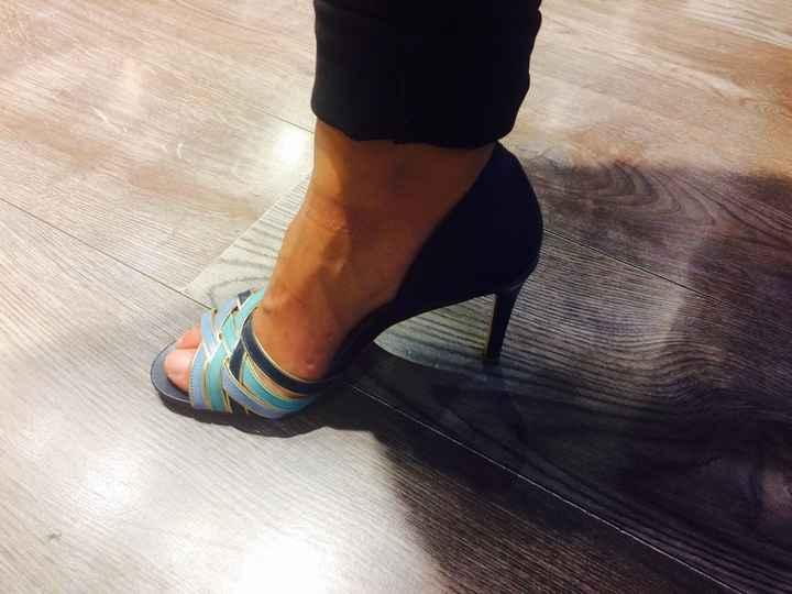 1 er essayage de chaussure - 1