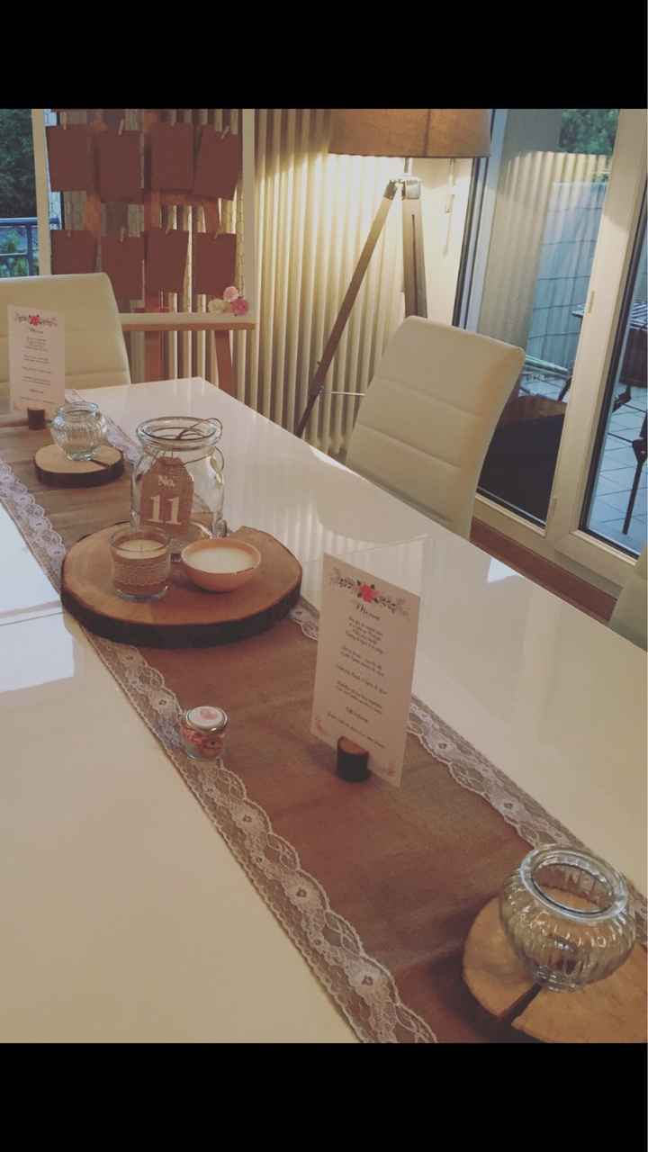 Recherche bon plan centre table en rondin de bois - 1