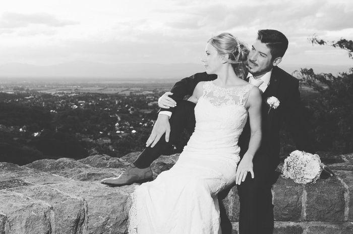 Premières photos de couple after Wedding Day! Et la poisse de la météo qui nous poursuit mdr - 2
