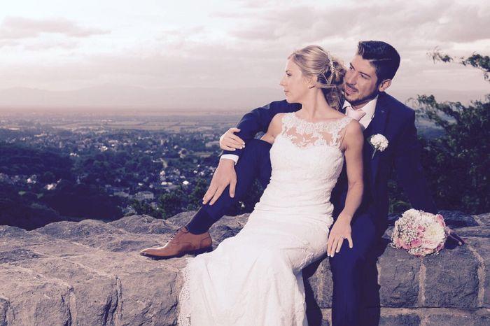 Premières photos de couple after Wedding Day! Et la poisse de la météo qui nous poursuit mdr - 3