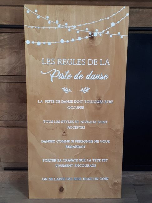 Les règles de la piste de danse ! 1
