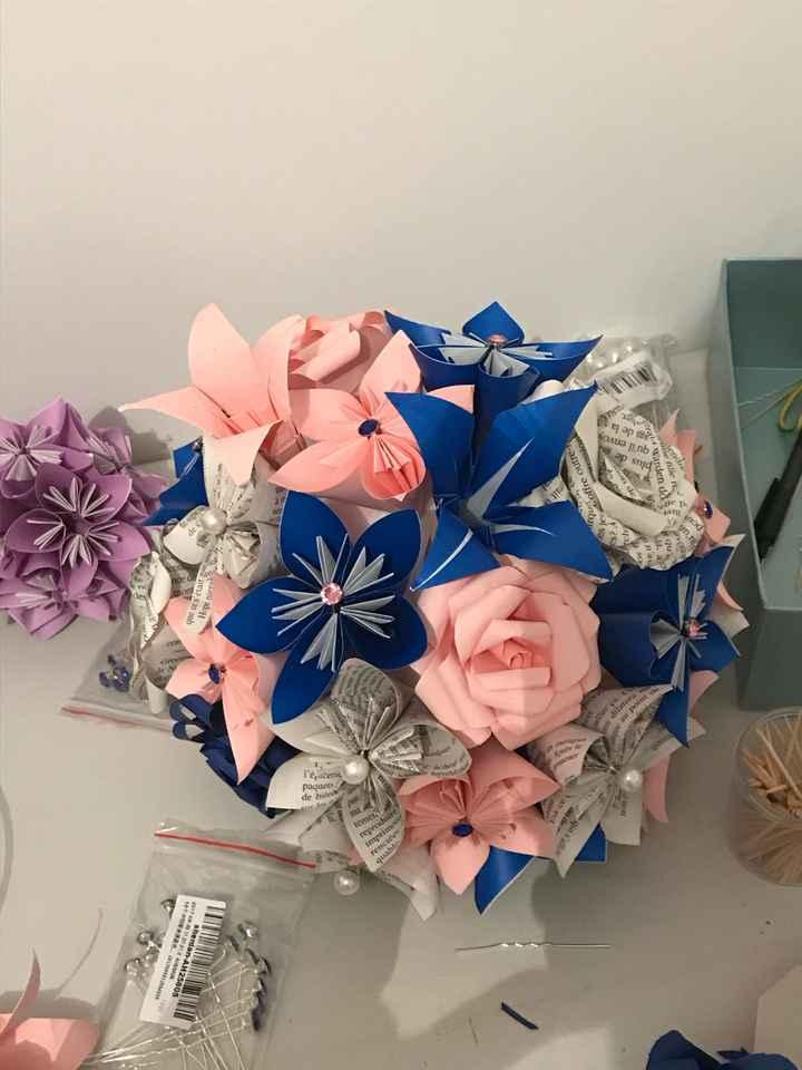 Diy fleur en papier - 2