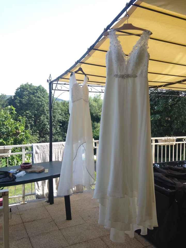 Laver sa robe de mariée - 1