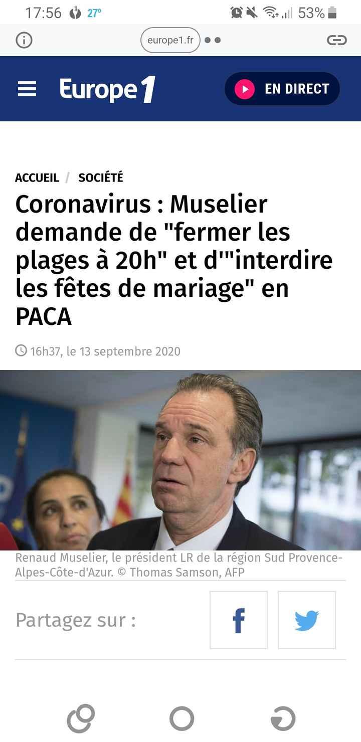 Mariage en Paca: interdiction ?? - 1