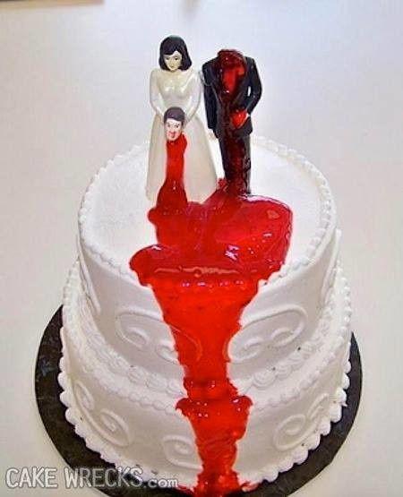 Les pires gâteaux de mariage - Em-mi 4