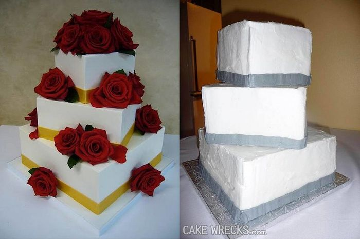 Les pires gâteaux de mariage - Em-mi 5