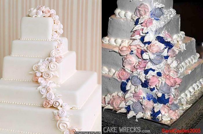 Les pires gâteaux de mariage - Em-mi 6