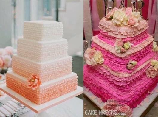 Les pires gâteaux de mariage - Em-mi 7