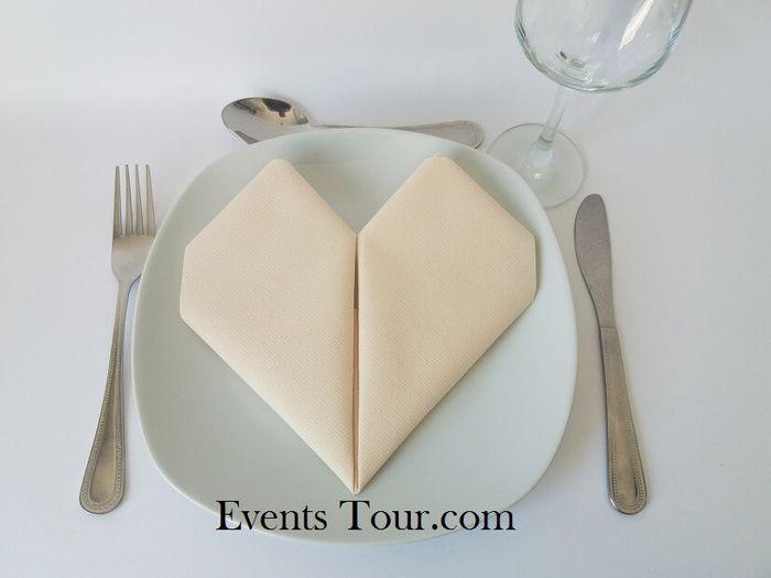 Ca fait (pas) mariage - les serviettes en papier. 1